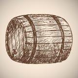 Μπύρα Σχεδιασμός με το χέρι Στοκ Εικόνα