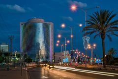 ΜΠΎΡΑ-SHEVA, ΙΣΡΑΉΛ 17 ΝΟΕΜΒΡΊΟΥ 2017: Εμπορικό κέντρο Negev μέσα στοκ εικόνες
