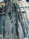 Μπλεγμένο καλώδιο Στοκ φωτογραφία με δικαίωμα ελεύθερης χρήσης