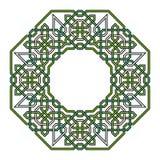 Μπλεγμένο σχέδιο βασισμένο σε παραδοσιακά Αραβικά ελεύθερη απεικόνιση δικαιώματος