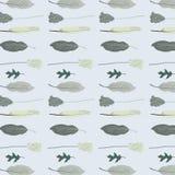 Μπλε άνευ ραφής σχέδιο φτερών Στοκ φωτογραφία με δικαίωμα ελεύθερης χρήσης