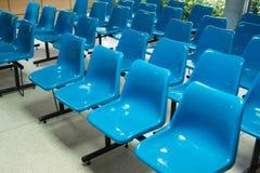 μπλε άδειες θέσεις Στοκ Εικόνα