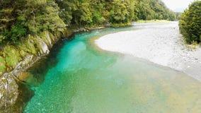 Μπλε λίμνες, ΑΜ Επιδίωξη, Νέα Ζηλανδία Στοκ εικόνες με δικαίωμα ελεύθερης χρήσης