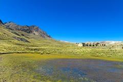 Μπλε λίμνες νερού στο βουνό Πλάτωνας Στοκ φωτογραφία με δικαίωμα ελεύθερης χρήσης