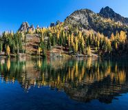 Μπλε λίμνη, πολιτεία της Washington Στοκ Φωτογραφίες