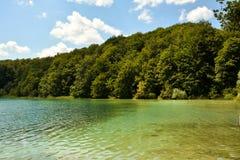 Μπλε λίμνη Plitvice Στοκ φωτογραφία με δικαίωμα ελεύθερης χρήσης
