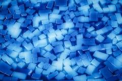 Μπλε αγάρ-αγάρ φρούτων Στοκ εικόνα με δικαίωμα ελεύθερης χρήσης