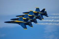 μπλε αγγέλων Στοκ φωτογραφία με δικαίωμα ελεύθερης χρήσης