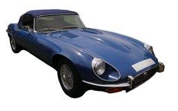 Μπλε αθλητικό αυτοκίνητο Στοκ Εικόνες