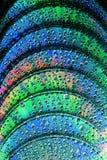 μπλε ακτίνα δίσκων Cd dvd Στοκ Φωτογραφίες