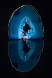 Μπλε αμέθυστος Στοκ Εικόνες