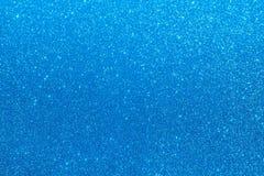 Μπλε λαμπρό υπόβαθρο οριζόντιο Στοκ Φωτογραφίες