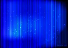 Μπλε λαμπρό υπόβαθρο Στοκ Φωτογραφίες