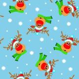 Μπλε ανασκόπηση Χριστουγέννων Στοκ Εικόνα