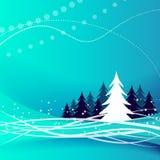 Μπλε ανασκόπηση Χριστουγέννων Στοκ εικόνες με δικαίωμα ελεύθερης χρήσης
