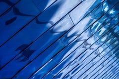 μπλε αντανακλαστικός αν&a στοκ φωτογραφία