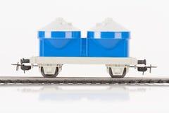 Μπλε αυτοκίνητο παιχνιδιών στοκ φωτογραφία με δικαίωμα ελεύθερης χρήσης
