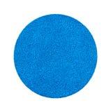 Μπλε αυτοκόλλητη ετικέττα πώλησης γκαράζ Στοκ Φωτογραφία