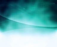 Μπλε αφηρημένο ημίτονο υπόβαθρο Στοκ Εικόνα