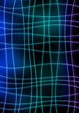 Μπλε αφηρημένο υπόβαθρο γραμμών Στοκ εικόνες με δικαίωμα ελεύθερης χρήσης
