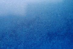 Μπλε αφηρημένο υπόβαθρο πτώσεων νερού Στοκ Εικόνες