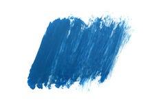Μπλε αφηρημένο υπόβαθρο στο ύφος watercolor Στοκ φωτογραφία με δικαίωμα ελεύθερης χρήσης