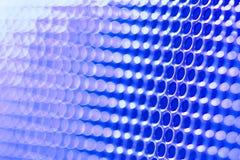 Μπλε αφηρημένο υπόβαθρο φρακτών θαμπάδων Στοκ Εικόνες