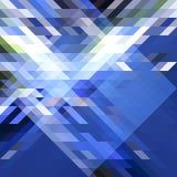 Μπλε αφηρημένο BG του νέου έτους Στοκ Εικόνα