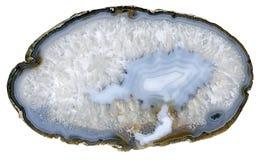 Μπλε αχάτης Στοκ Φωτογραφίες