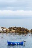 μπλε αλιεία βαρκών Στοκ φωτογραφία με δικαίωμα ελεύθερης χρήσης