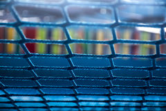 Μπλε αλιεία με δίχτυα Στοκ εικόνα με δικαίωμα ελεύθερης χρήσης