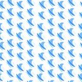 Μπλε βάρκες στον αέρα Στοκ φωτογραφία με δικαίωμα ελεύθερης χρήσης