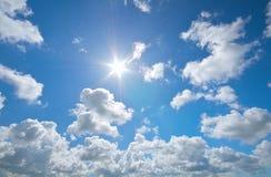 μπλε βαθύς ουρανός Στοκ φωτογραφία με δικαίωμα ελεύθερης χρήσης
