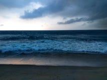 μπλε βαθύς ωκεανός Στοκ εικόνα με δικαίωμα ελεύθερης χρήσης