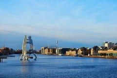 Μπλε Βερολίνο στοκ φωτογραφία