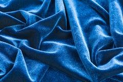 μπλε βελούδο Στοκ Εικόνες