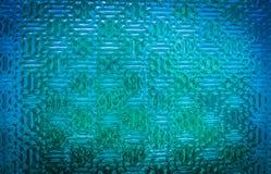 Μπλε βιομηχανική σύσταση γυαλιού Στοκ φωτογραφία με δικαίωμα ελεύθερης χρήσης