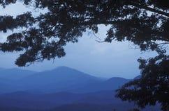 Μπλε βουνά κορυφογραμμών, Βιρτζίνια Στοκ Φωτογραφία