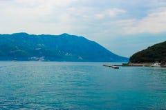 Μπλε βουνά στο Μαυροβούνιο Στοκ Εικόνες