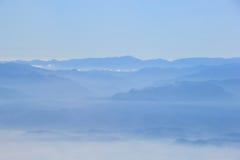 μπλε βουνό Στοκ φωτογραφίες με δικαίωμα ελεύθερης χρήσης