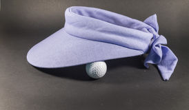 Μπλε γείσο γκολφ Στοκ Εικόνες