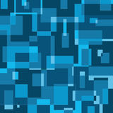 Μπλε γεωμετρικό bacground Στοκ Εικόνα