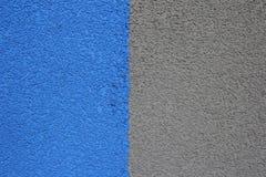 μπλε-γκρίζο κτήριο ασβεστοκονιάματος, δομή Στοκ εικόνες με δικαίωμα ελεύθερης χρήσης