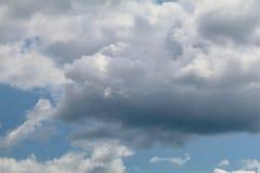 Μπλε γκρίζο altocumulus Στοκ εικόνα με δικαίωμα ελεύθερης χρήσης