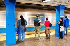 Μπλε γραμμή της Βοστώνης Στοκ Φωτογραφίες