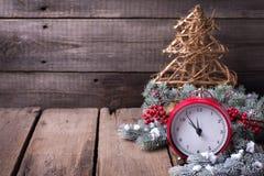 μπλε γυαλί σύνθεσης Χριστουγέννων μπιχλιμπιδιών Στοκ εικόνες με δικαίωμα ελεύθερης χρήσης