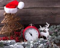 μπλε γυαλί σύνθεσης Χριστουγέννων μπιχλιμπιδιών Στοκ Εικόνες