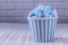 Μπλε γλυκά πράγματα Στοκ Εικόνα