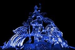 Μπλε γλυπτών νεράιδων και πάγου του Phoenix Στοκ φωτογραφίες με δικαίωμα ελεύθερης χρήσης