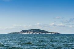 Μπλε εθνικό πάρκο Σουηδία νησιών της Virgin στοκ εικόνες